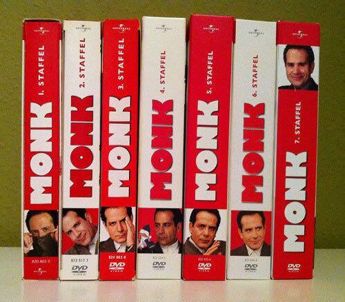 Monk Staffel 7 Cover